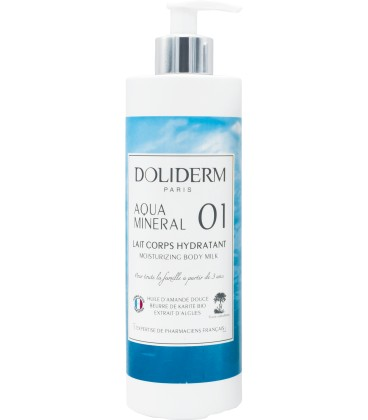 Lait Corps Hydratant Doliderm 01 Aqua Mineral - 400ml