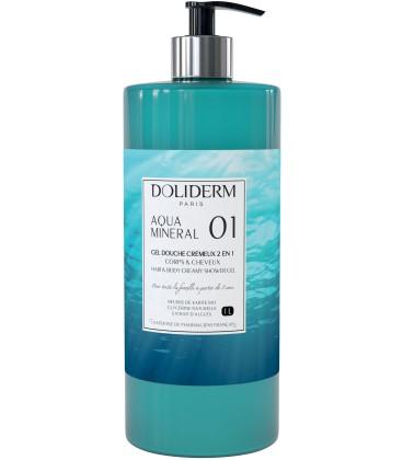 Gel douche cremeux n°01 aquamineral - Doliderm
