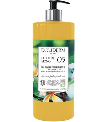 Gel douche cremeux n°05 fleur de monoi - Doliderm