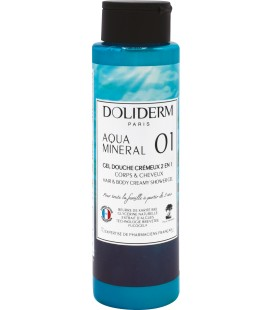 Gel douche cremeux n°01 aquamineral - Doliderm