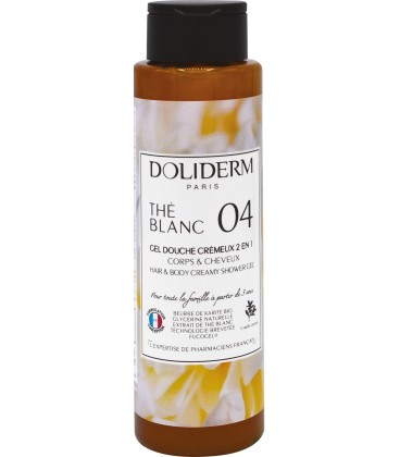 Gel douche cremeux n°04 the blanc - Doliderm