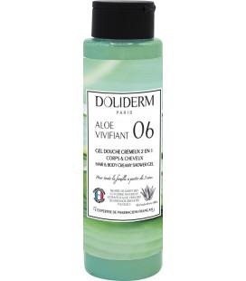 Gel douche cremeux n°06 aloe vivifiant - Doliderm