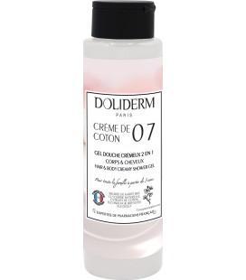 Gel douche cremeux n°07 creme de coton - Doliderm