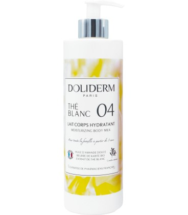 Lait corps hydratant n°04 the blanc - Doliderm
