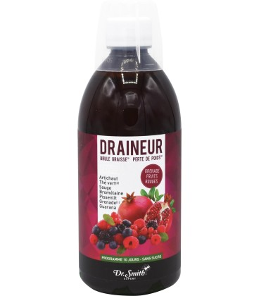 Draineur grenade fruits rouges - Dr smith expert