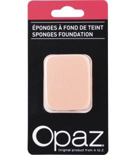 Eponge latex special fond de teint x2 - Opaz