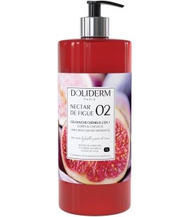 Gel douche cremeux n°02 nectar figue - Doliderm