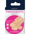 Pansement Assortis x24