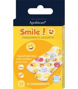 Pansements Enfants Smile ! x25