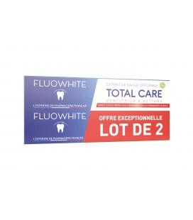 Fluowhite Total Care - Lot de 2